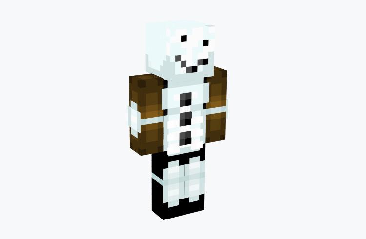Golem Fighter Snowman / Minecraft Skin