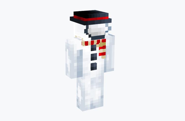 Among Us Snowman Crewmate / Minecraft Skin
