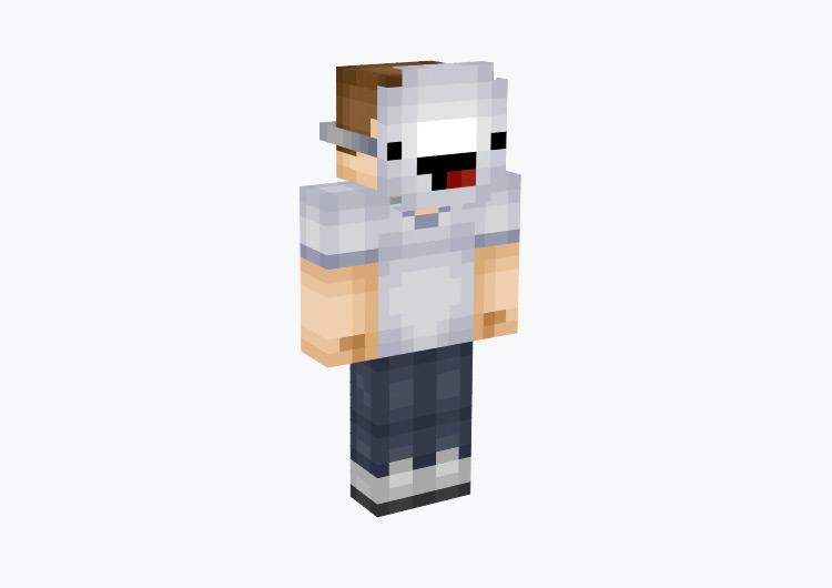 Guy Wearing Derp Mask / Minecraft Skin