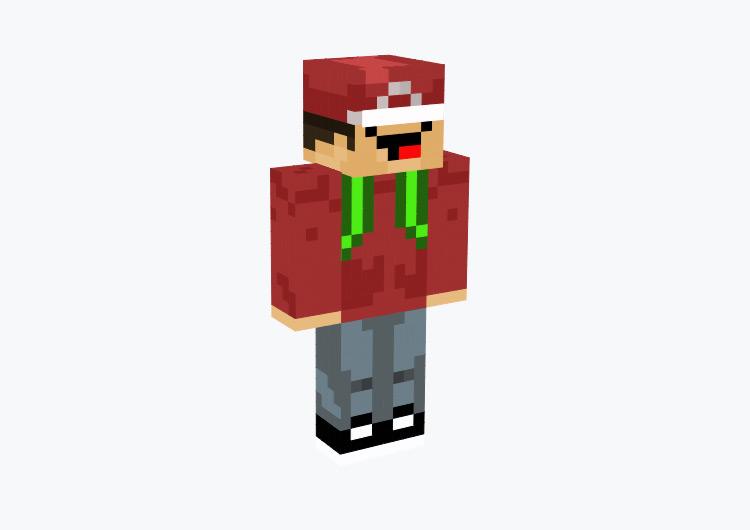 Derp Face Pokémon Trainer / Minecraft Skin
