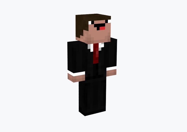 Secret Agent Derp / Minecraft Skin