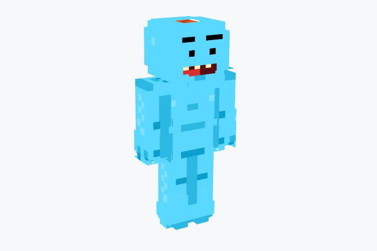 Mr. Meeseeks from R&M / Minecraft Skin