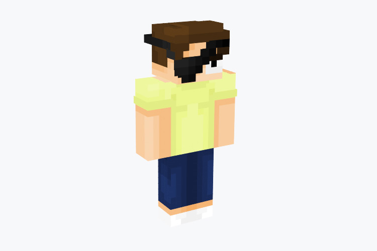 Evil Morty / Minecraft Skin