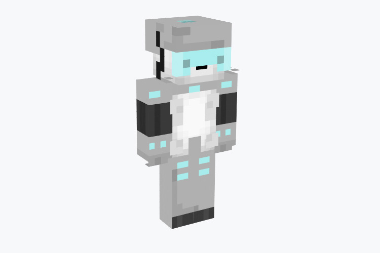 Snowball from Rick & Morty / Minecraft Skin