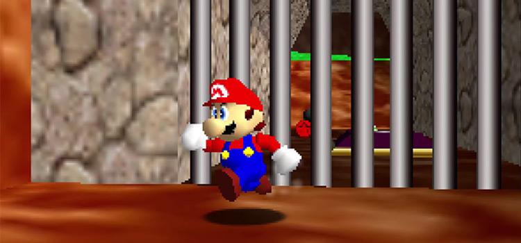 Super Mario 64 Jumping Screenshot (N64)