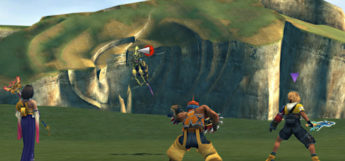 Hornet Monster Arena Battle in FFX HD