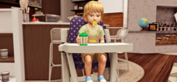 Best Sims 4 High Chair CC To Download (All Free)