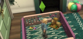 Functional Playpen Screenshot in The Sims 4