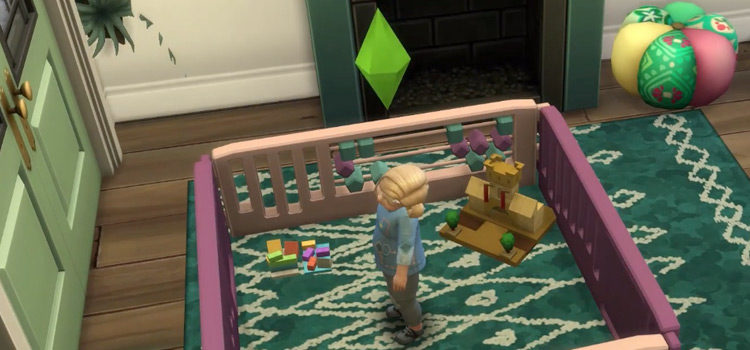 Sims 4 Baby Gate & Playpen CC (All Free)
