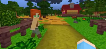 Farmland in Minecraft (Stardew Valley Crossover)