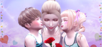 Mom and Toddlers Posepack Preview (TS4)
