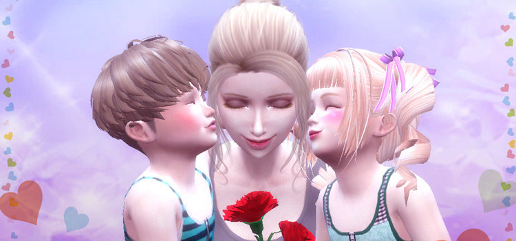 Sims 4 Mother's Day CC, Mods & Poses: The Ultimate List