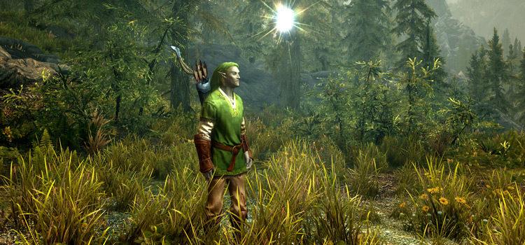 Skyrim Legend of Zelda Mods: Armor, Outfits & More