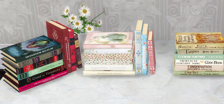 The Sims 4: Books Clutter & CC Packs (All Free)