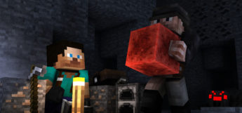 Exploring The Mines (Skins) in Minecraft
