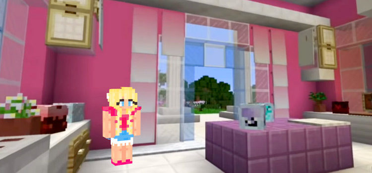 Barbie-Themed Skins For Minecraft (All Free To Download)