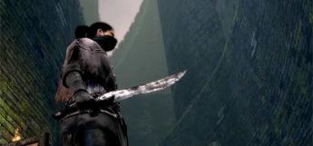 Bandit Knife Close-up in Dark Souls Remastered