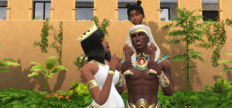 The Sims 4: Best Egyptian-Themed CC (All Free)