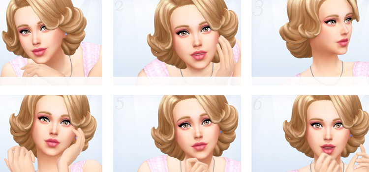 Best Sims 4 Close-Up Poses (All Free To Download)