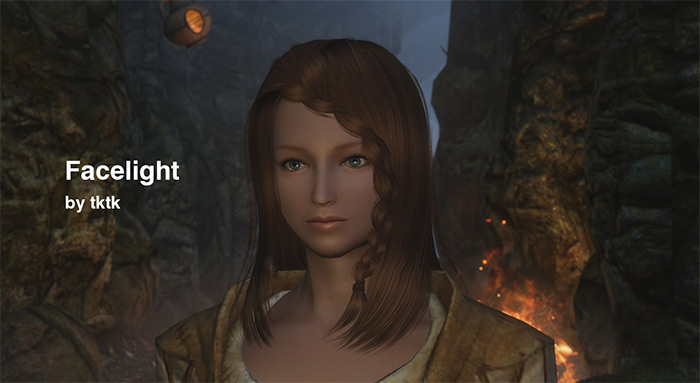 Face Light skyrim mod