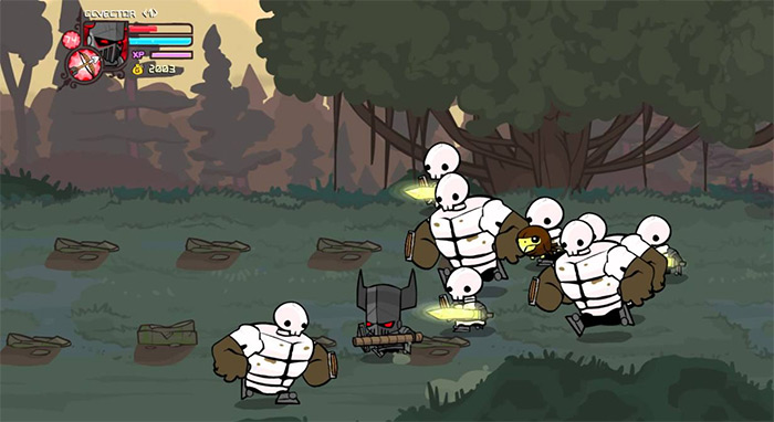 Skeleton Castle Crashers