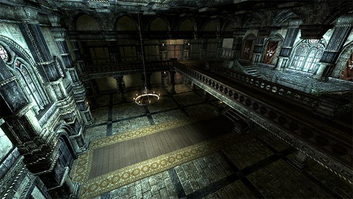 Evil Mansion Skyrim mod