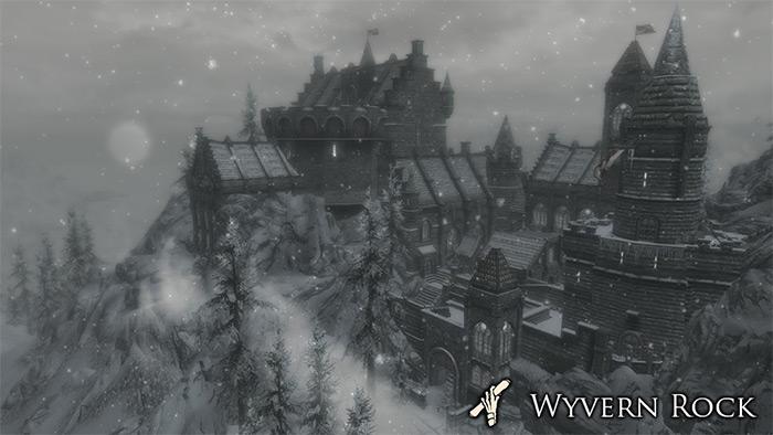 Wyvern Rock Castle mod