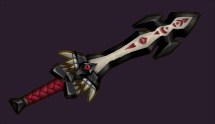 Dark Cloud weapon in game
