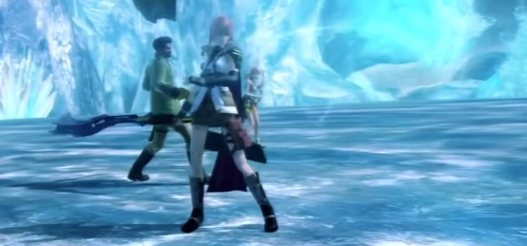 FF13 team battle victory poses