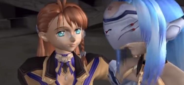 Xenosaga original HD screenshot