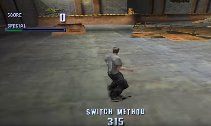 Original THPS gameplay PS1