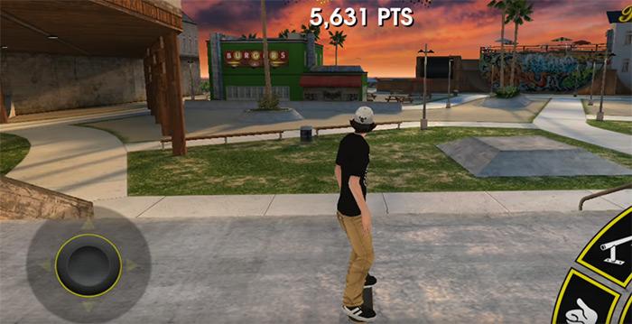 Tony Hawk Skate Jam gameplay