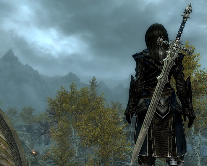 Dread Knight Weapon Set mod