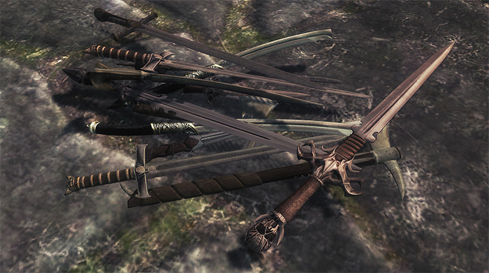 Ghosus Weapon Pack mod