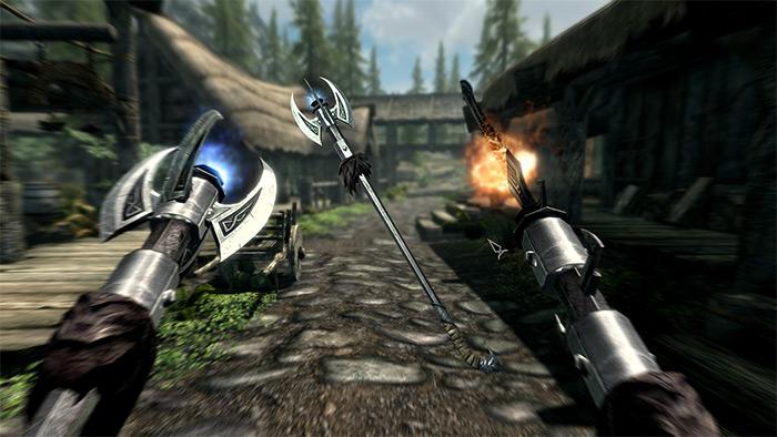 Expanded Skyrim Weaponry mod