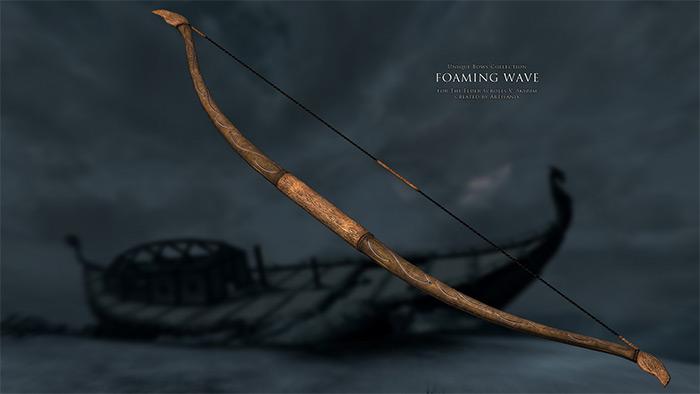 Unique Bows Collection Skyrim mod