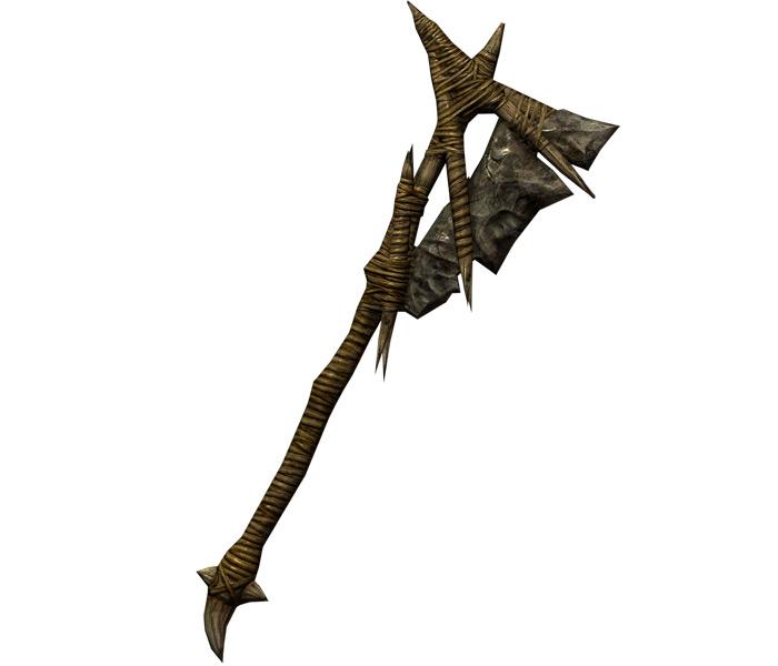 Forsworn War Axe in Skyrim