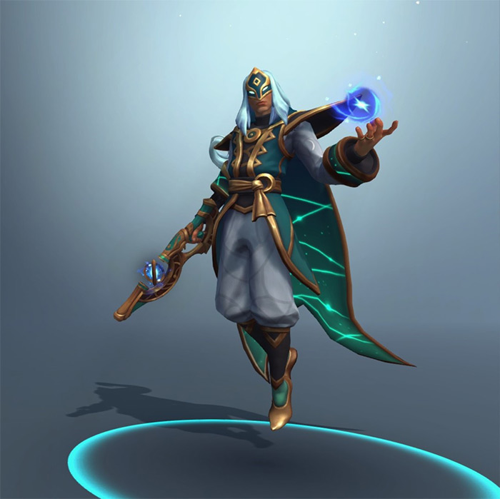 Jenos Support in Paladins