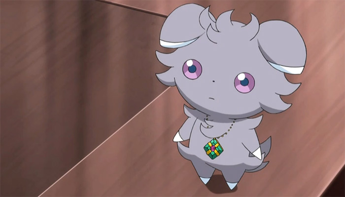 Espurr in Pokemon anime