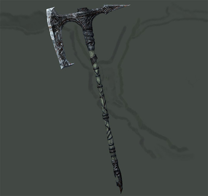Tsun's Battle Axe Skyrim