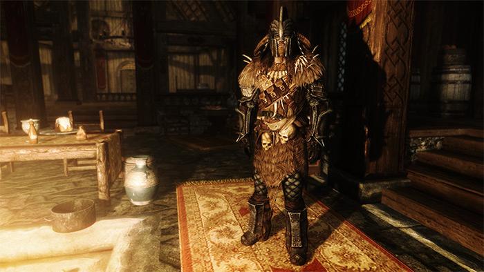 Warchief Armor Skyrim mod