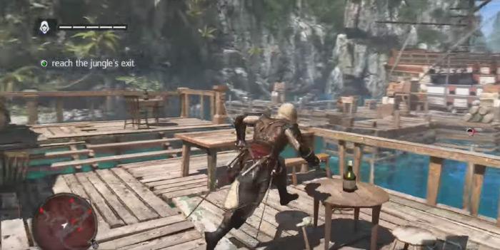 AC4 Black Flag gameplay