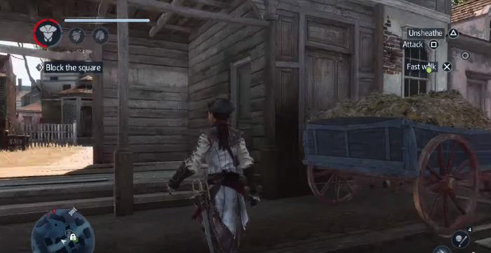 AC3 Liberation gameplay