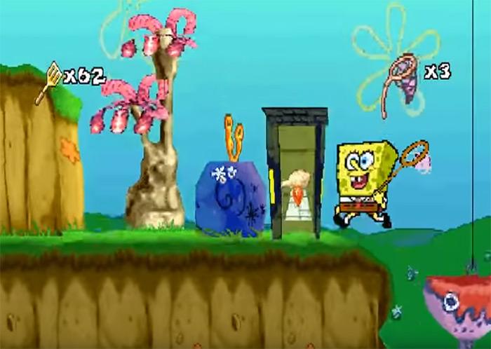 SuperSponge video game