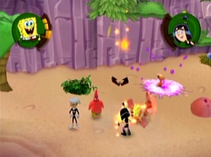 Battle for Volcano Island game