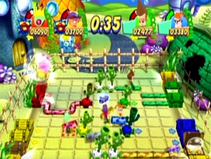 Nickelodeon Party Blast game