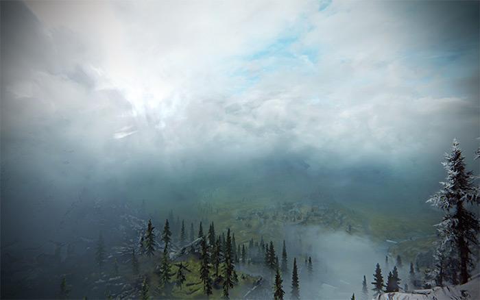 Skyrim Real Clouds