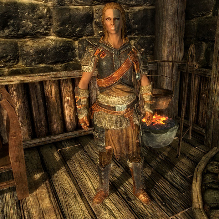 Mjoll The Lioness in Skyrim