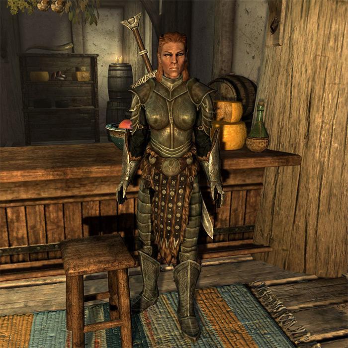 Uthgerd The Unbroken in Skyrim