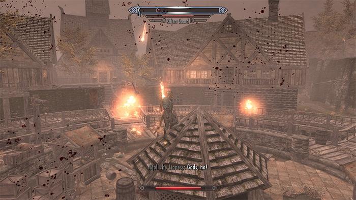 Meteor Call Skyrim mod